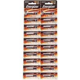 """Energizer батарейки """"Base. LR03"""" алкалиновые, мизинчиковые, 20 шт"""