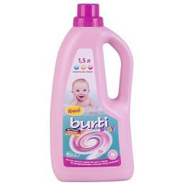 Burti средство жидкое для стирки детского белья, 1,5 л.
