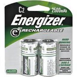 "Energizer аккумулятор ""Rechargeable. C/HR14. 2500mAh. FSB2"", 2 шт"