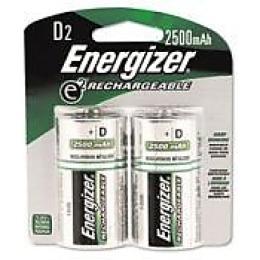 "Energizer аккумулятор ""Rechargeable. D/HR20. 2500mAh. FSB2"", 2 шт"