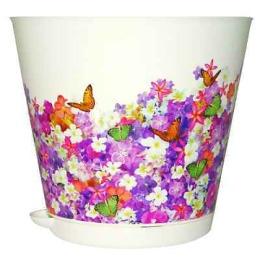 """InGreen горшок """"Крит"""" для цветов, с системой прикорневого полива"""