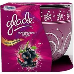 """Glade ароматизированная свеча """"Искушающие ягоды"""", 120 г"""