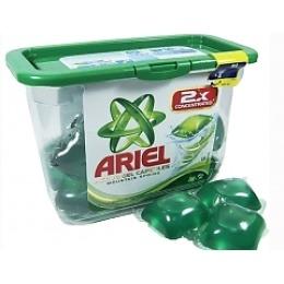 """Ariel гель жидкий в растворимых капсулах """"Active Capsules. Горный родник"""" автомат, 23х35 г"""