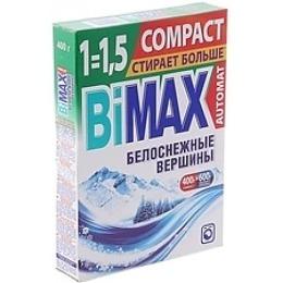 """Bimax стиральный порошок """"Белоснежные вершины Compact"""" автомат, 400 г"""