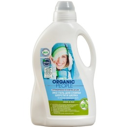 Organic people эко-гель, для стирки шерсти и шелка, 1,5 л