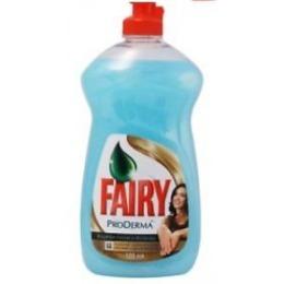 "Fairy средство для мытья посуды ""ProDerma.Водяная Лилия и Жожоба"", 500 мл"