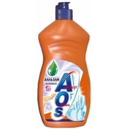"""Aos средство для мытья посуды """"Бальзам Ромашка + Витамин Е"""", 500 мл"""