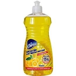 "Chirton средство для мытья посуды ""Лимон"", 500 мл + 75мл"