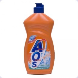 """Aos средство для мытья посуды """"НЭФИС. Глицерин"""", 500 мл"""