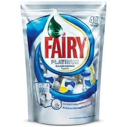 """Fairy средство для мытья посуды в капсулах """"PLATINUM All in 1"""" для автоматических посудомоечных машин, 40 шт"""