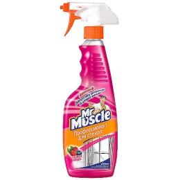 """Мистер Мускул чистящее и моющее средство для стекол с ammonia-d """"Лесные ягоды"""", триггер, 500 мл"""