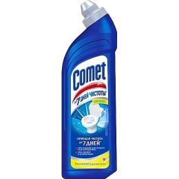 """Comet чистящее средство для туалета """"Весенняя свежесть"""", 750 мл"""