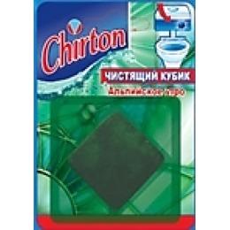 """Chirton чистящий кубик """"Альпийское утро"""" для унитаза, 50 г"""