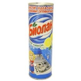 """Биолан чистящий порошок """"Сочный лимон"""", 400 г"""