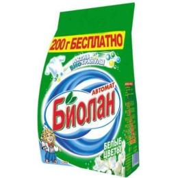 """Биолан стиральный порошок """"Белые цветы. Автомат"""""""