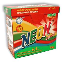 """Neon стиральный порошок для цветного белья """"Color"""" Концентрированный, 1кг"""