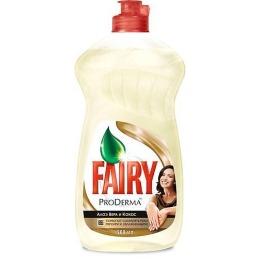 """Fairy средство для мытья посуды """"ProDerma. Алоэ Вера и Кокос"""""""