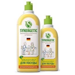 Synergetic биоразлагаемое концентрированное средство для посуды и кухонного инвентаря