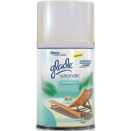 """Glade освежитель воздуха """"Automatic Океанский оазис"""" сменный баллон, 269 мл"""