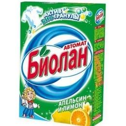 """Биолан порошок стиральный """"Апельсин и лимон. Автомат"""", 350 г"""