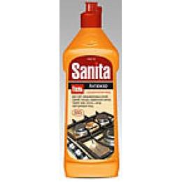 """Sanita гель """"Антижир"""" для чистки кухонных плит, микроволновых печей, гилей и посуды, 500 г"""