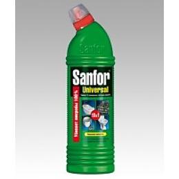 """Sanfor гель для разных поверхностей """"UNIVERSAL 10 в 1. Лимонная свежесть"""" универсальный, с хлором , 750 г"""