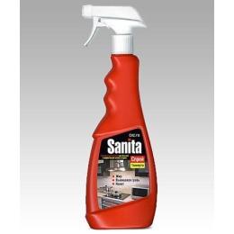 """Sanita спрей """"1 Минута"""" для чистки кухонной мебели, вытяжек, плит, кафельной плитки, стеновых панелей, 500 г"""