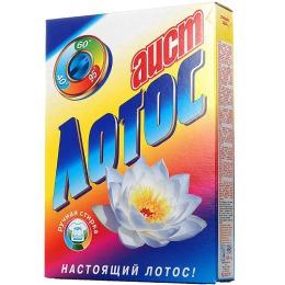 """Аист стиральный порошок """"Лотос"""", 400 г"""