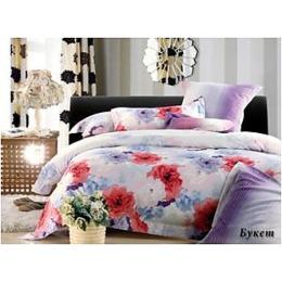 """Tiffany`s Secret комплект постельного белья """"Букет"""" 1.5 спальное, наволочки 50х70 см"""