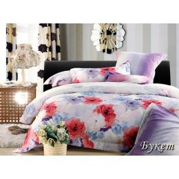 """Tiffany`s Secret комплект постельного белья """"Букет"""" евро в пвх упаковке, наволочки 50х70 см"""