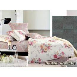 """Tiffany`s Secret комплект постельного белья """"Вальс цветов"""" 1.5 спальное в пвх упаковке, наволочки 50х70 см"""