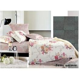 """Tiffany`s Secret комплект постельного белья """"Вальс цветов"""" 2-х спальное в пвх упаковке, наволочки 50х70 см"""