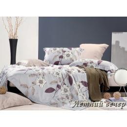 """Tiffany`s Secret комплект постельного белья """"Летний вечер"""" семейный, наволочки 50х70 см, в ПВХ упаковке"""