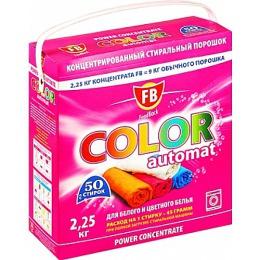 """FeedBack стиральный порошок """"Color"""" сильно концентрированный автомат для белого и цветного белья, 2,25 кг"""