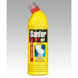 """Sanfor средство для чистки и дезинфекции ванн """"Лимон"""", 750 мл"""