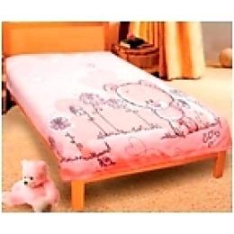 """Teddy плед """"Мишка розовый"""" микрофибра, 127х152 см"""