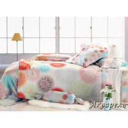 """Tiffany`s Secret комплект постельного белья """"Акварель"""" семейный в пвх упаковке, наволочки 50х70 см"""