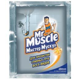 Мистер Мускул чистящее и моющее средство для засоpенных тpуб, 70 г
