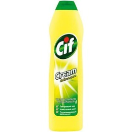 "Cif чистящий крем ""Актив Лимон"", 750 мл"