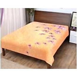 "Veroni плед ""Бабочки"" микрофибра-фланель, 100% полиэстер, 180х220 см"