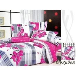 """Tiffany`s Secret комплект постельного белья """"Орхидея"""" евро в пвх упаковке, наволочки 50х70 см"""