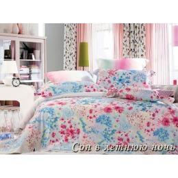 """Tiffany`s Secret комплект постельного белья """"Сон в летнюю ночь"""" евро в пвх упаковке, наволочки 50х70 см"""