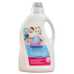 Organic people гель для стирки всех видов тканей, 1,5 л.