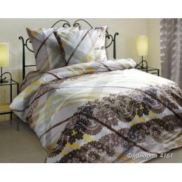 """Блаkiт комплект постельного белья """"Фландрия"""" 1.5 спальное, однотонная простынь, наволочки 70х70 см"""