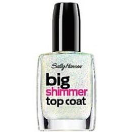 "Sally Hansen верхнее покрытие ""Big shimmer"""