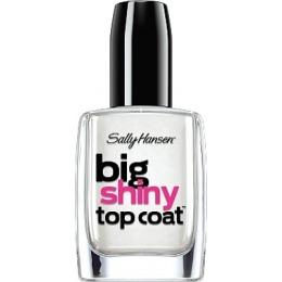 """Sally Hansen верхнее покрытие """"Big Shiny Top Coat"""" для создания глянцевого эффекта"""