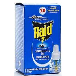 """Raid жидкость от комаров """"30 ночей"""" + жидкость """"30 ночей"""""""