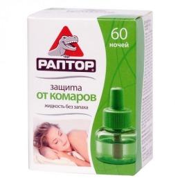 """Раптор жидкость от комаров """"Зеленый чай. 30 ночей"""""""