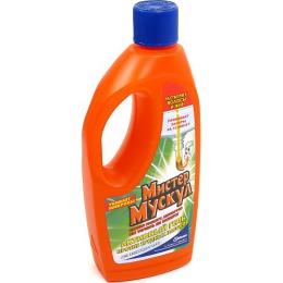 Мистер Мускул чистящее и моющее средство гель для сливных труб, 500 мл