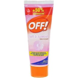 "Off! крем от комаров ""Soft Scented"", 75 мл"